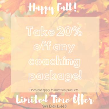 Happy Fall 20%